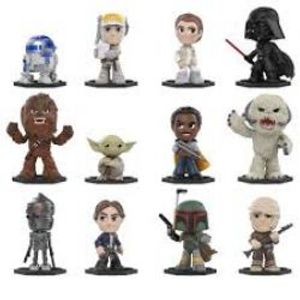 STAR WARS -  MYSTERY MINIS BOBBLE-HEAD FIGURE (3 INCH) -  STAR WARS : THE EMPIRE STRIKES BACK