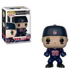 HOUSTON TEXANS -  POP! VINYL FIGURE OF J.J. WATT (BLUE SHIRT) (4 INCH) 51