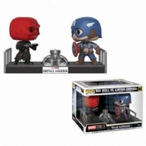CAPTAIN AMERICA -  POP! VINYL BOBBLE-HEAD OF CAPTAIN AMERICA VS. RED SKULL -  CAPTAIN AMERICA: THE FIRST AVENGER 389