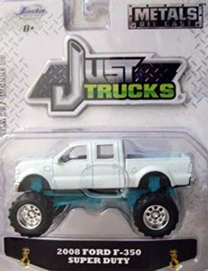 FORD -  2008 FORD F-350 SUPER DUTY 1/64 WHITE