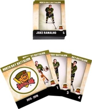 NORTH BAY BATTALION -  (24 CARDS) -  2015-16
