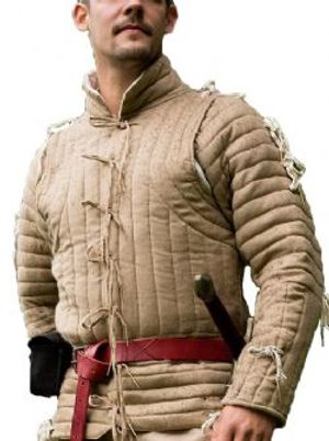 GAMBESON -  IMPERIAL GAMBESON - BEIGE