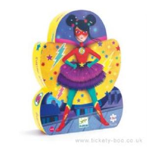 SHAPED PUZZLE -  SUPER STAR (36 PIECES) - 4+