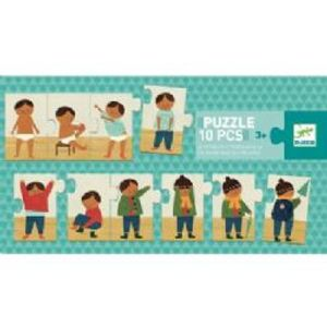 PUZZLE DUO -  I'M DRESSING UP (10 PIECES) - 3+