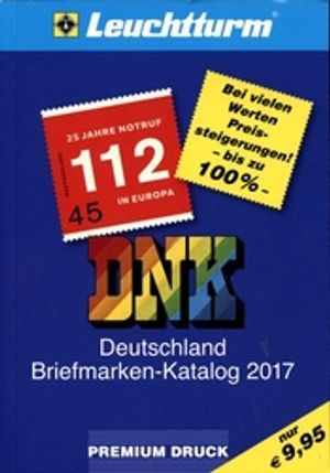 GERMANY -  2017 LEUCHTTURM GERMAN STAMPS CATALOG