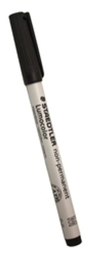 PENCIL -  NON-PERMANENTS MARKERS - BLACK