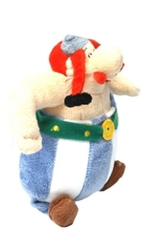 ASTERIX -  OBELIX PLUSH - SHORT BRAIDS (8