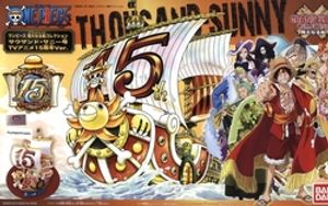 ONE PIECE -  THOUSAND SUNNY MODEL (15TH ANNIVERSARY)