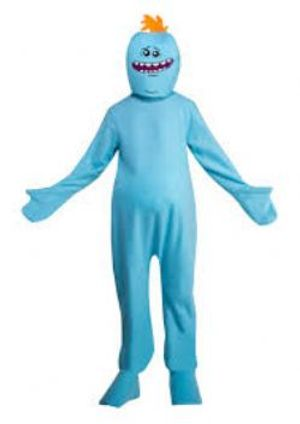 RICK ET MORTY -  COSTUME DE MR. MEESEEKS (ADULTE - GRAND 44)