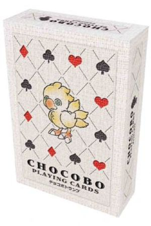 FINAL FANTASY -  CHOCOBO PLAYING CARDS