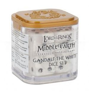 MIDDLE-EARTH STRATEGY BATTLE GAME -  ENSEMBLE DE DÉS -  GANDALF THE WHITE