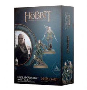MIDDLE-EARTH STRATEGY BATTLE GAME -  LEGOLAS GREENLEAF AND TAURIEL