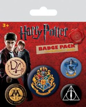 HARRY POTTER -  SET OF 5 PINS