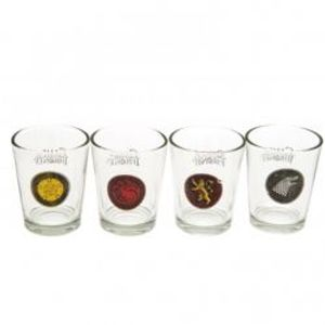 GAME OF THRONES, A -  FOUR SHOT GLASS SET