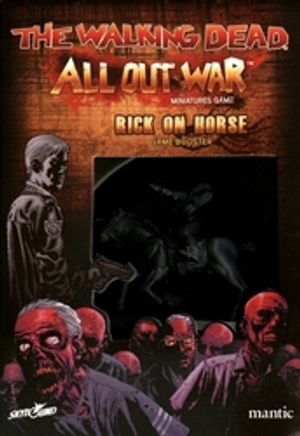 WALKING DEAD -  ALL OUT WAR - RICK ON HORSE BOOSTER (MULTILINGUE)