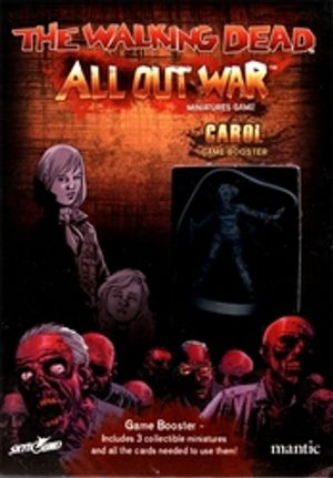 WALKING DEAD -  ALL OUT WAR - CAROL BOOSTER (MULTILINGUE)