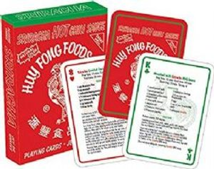 POKER SIZE PLAYING CARDS -  SIRACHA RECIPES