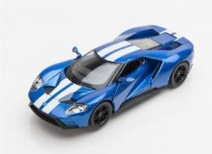 FORD -  2017 GT 1/38 - BLUE/STRIPES