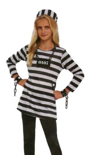 COPS AND ROBBERS -  BAD GIRL COSTUME (TEEN)