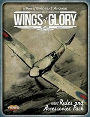 WINGS OF GLORY -  WW2 - RULES AND ACCESSORIES PACK