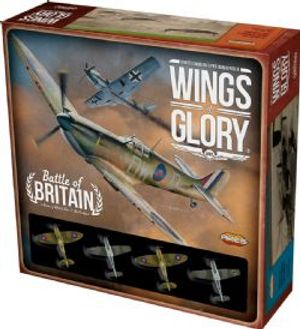 WINGS OF GLORY -  BATTLE OF BRITAIN (ANGLAIS)