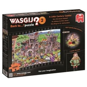 WASGIJ BACK TO...? -  A 14TH CENTURY CASTLE (1000 PIECES) 2 02