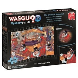 WASGIJ MYSTERY -  THE UNUSUAL SUSPECTS (1000 PIECES) 12