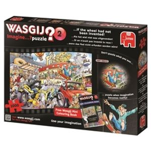 WASGIJ IMAGINE -  IF THE WHEEL HAD NOT BEEN INVENTED (1000 PIECES) 2