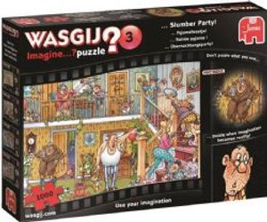 WASGIJ IMAGINE -  Slumber Party (1000 PIECES) 3