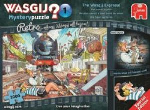WASGIJ MYSTERY -  The Wasgij Express (1000 PIECES)