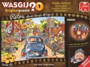 WASGIJ ORIGINAL -  Sunday Drivers (1000 PIECES)