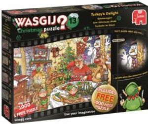 WASGIJ CHRISTMAS -  TURKEY'S DELIGHT (1000 PIECES)