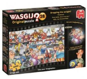 WASGIJ ORIGINAL -  DROPPING THE WEIGHT (1000 PIECES) 28