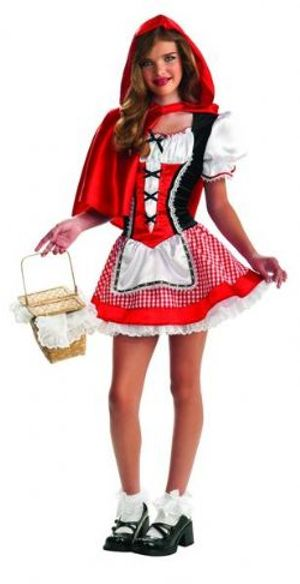 LITTLE RED RIDING HOOD -  RED RIDING HOOD COSTUME (TEEN)