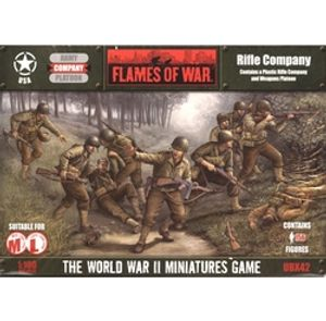 FLAMES OF WAR -  RIFLE COMPANY (PLASTIC) -  AMERICAN