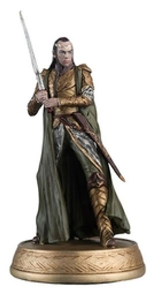 THE HOBBIT -  ELROND IN RIVENDELL (MAGAZINE AND FIGURINE) 18