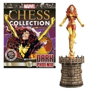 MARVEL CHESS COLLECTION -  DARK PHOENIX (MAGAZINE AND FIGURINE) 54