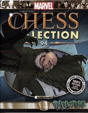 MARVEL CHESS COLLECTION -  VULTURE (MAGAZINE AND FIGURINE) 94