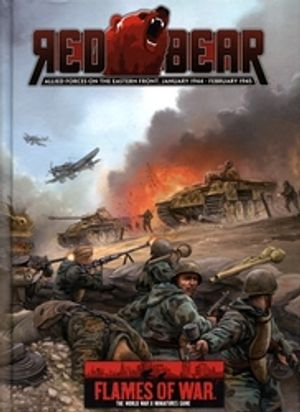 FLAMES OF WAR -  RED BEAR - ALLIED FORCES ON THE EASTERN FRONT