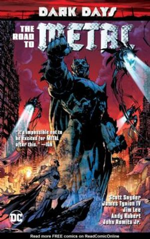 BATMAN -  THE ROAD TO METAL TP -  DARK DAYS