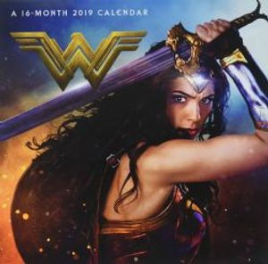 WONDER WOMAN -  2019 WALL CALLENDAR (16 MONTH)