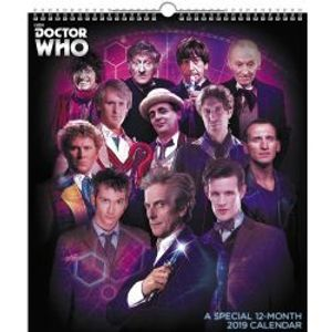 DOCTOR WHO -  SPECIAL EDITION CALENDAR 2019 (12 MONTH)