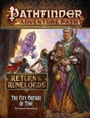 PATHFINDER -  THE CITY OUTSIDE OF TIME (ENGLISH) -  RETURN OF THE RUNELORDS