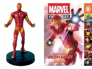 MARVEL FACT FILES COLLECTION -  IRON MAN SPECIAL NUMBER MARVEL (MAGAZINE ET FIGURINE) 16