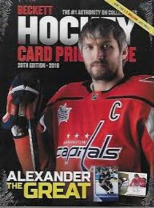 BECKETT HOCKEY -  CARD PRICE GUIDE ANNUAL 2019 (28TH EDITION)