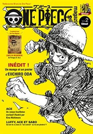 ONE PIECE -  ONE PIECE MAGAZINE -  20TH ANNIVERSARY 02