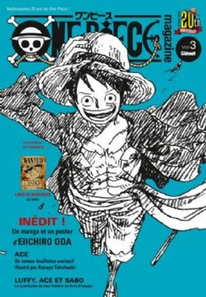 ONE PIECE -  ONE PIECE MAGAZINE -  20TH ANNIVERSARY 03
