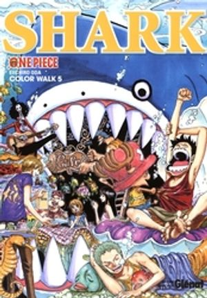 ONE PIECE -  SHARK - COLOR WALK 05