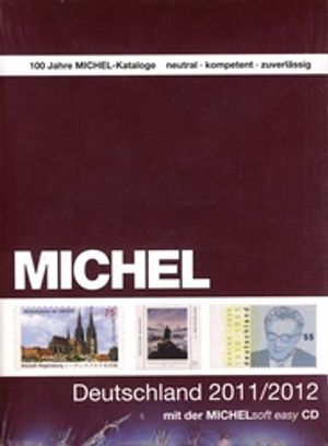GERMANY -  MICHEL CATALOGUE 2011-2012