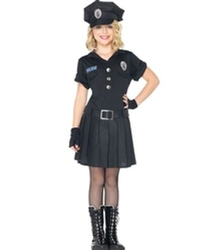 COPS AND ROBBERS -  POLICE OFFICER COSTUME (CHILD)